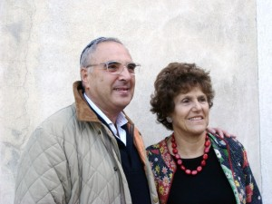 The famous cuisine writer Joan Nathan vist the Jewish Community of Venice